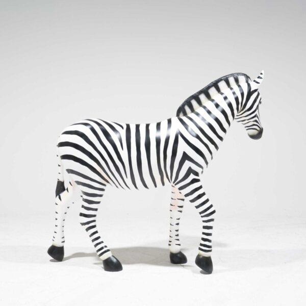 Life-Size Zebra Fibreglass-19251