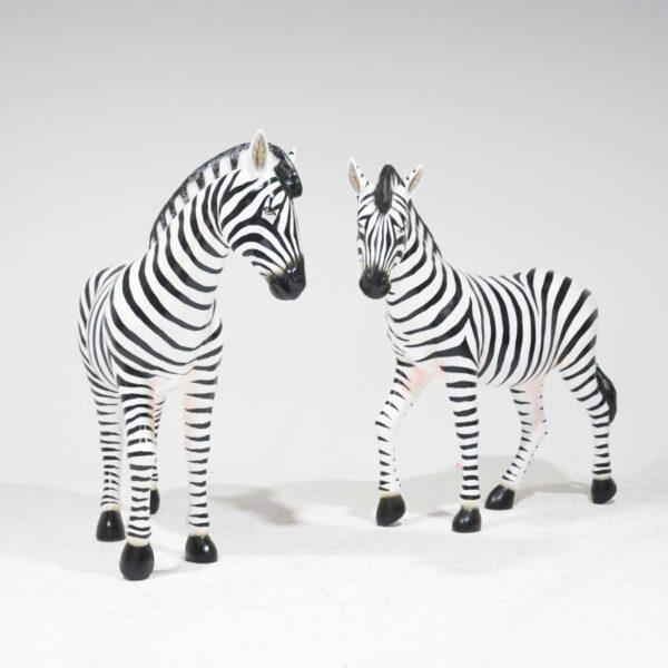 Life-Size Zebra Fibreglass-19252