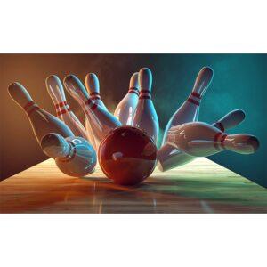 BD-0484 Bowling Pins Backdrop-0