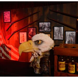 Eagle Head Sculpture-0