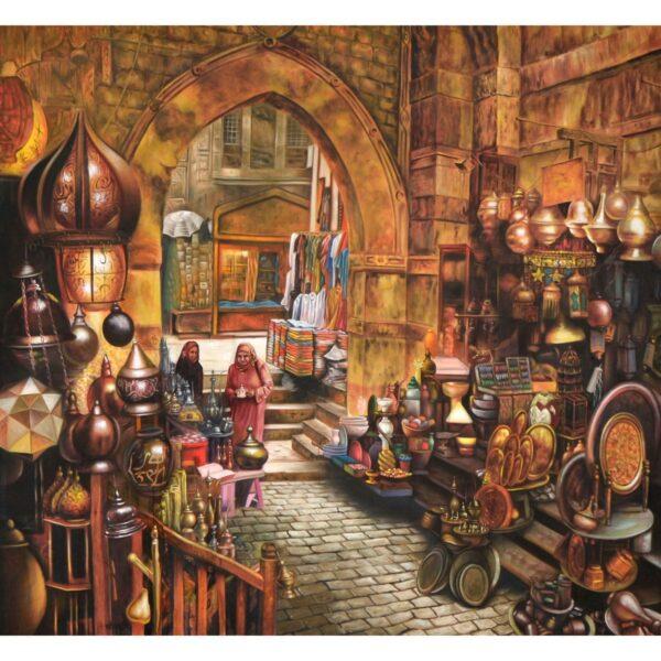 Arabian Market Painted Backdrop BD-0686