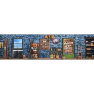 Alaska General Store Painted Backdrop BD-0722