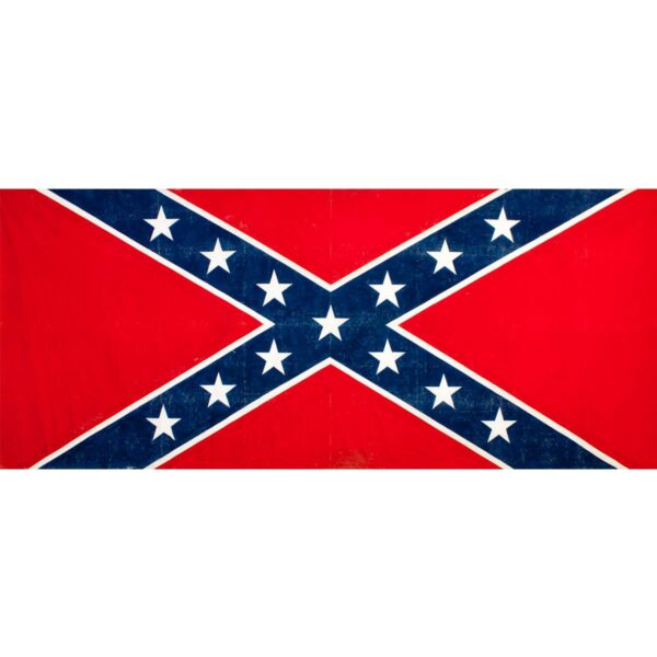 American Confederate Flag Painted Backdrop BD-148