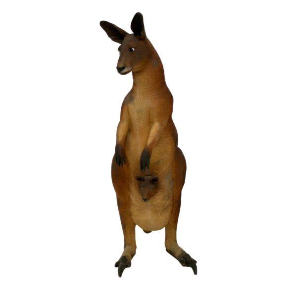 Life Size Kangaroo with Joey