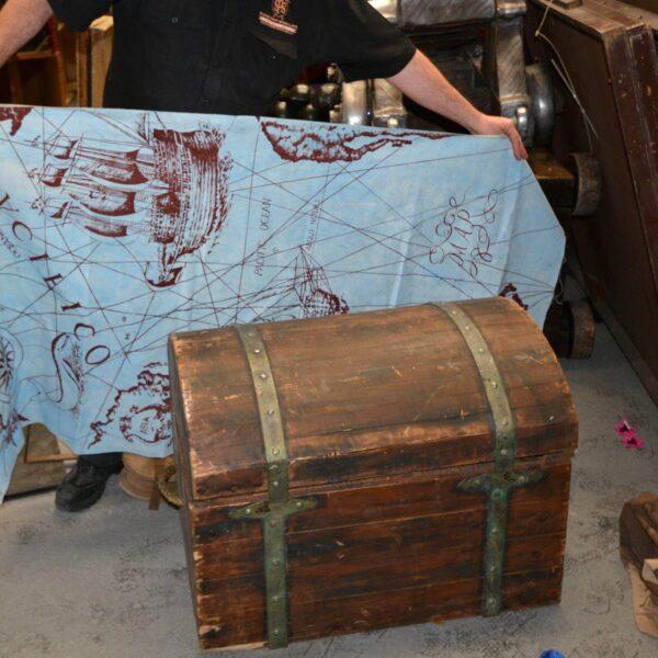 Wooden Treasure Chest