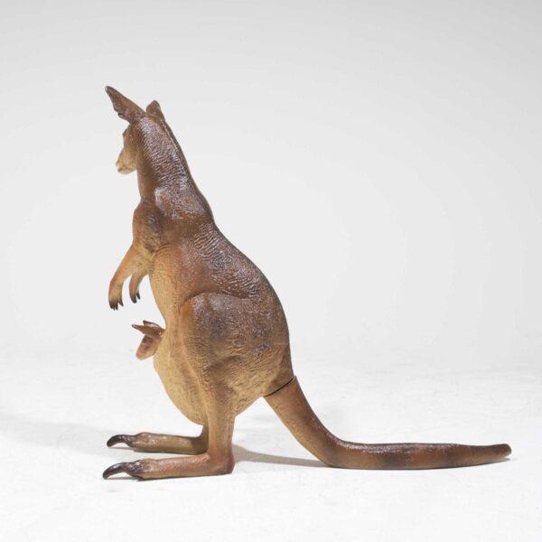 Life Size Kangaroo with Joey-19309