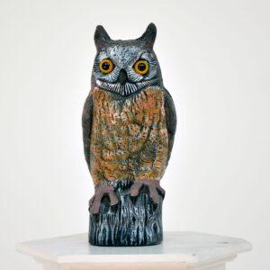 Owl Statue - Figurine-0