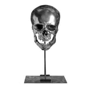 Giant Skull on Silver Stand