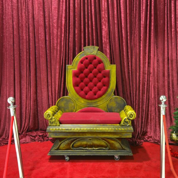 Throne 1 and 2 - Red Double-Seated Pincushion