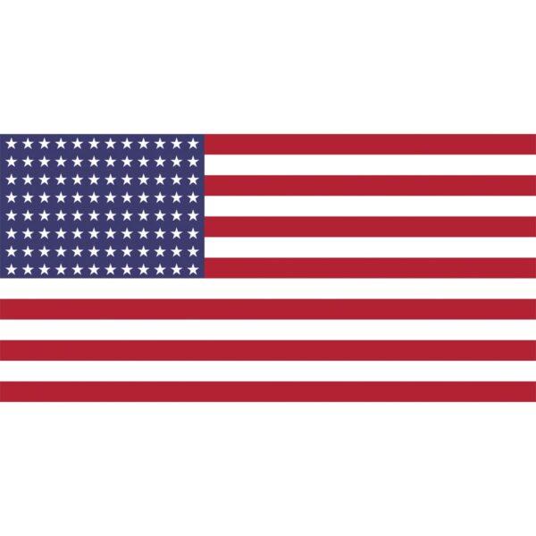 Flag USA, rustic