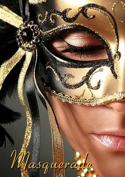 Sydney Prop Specialists Masquerade Theme Brochure