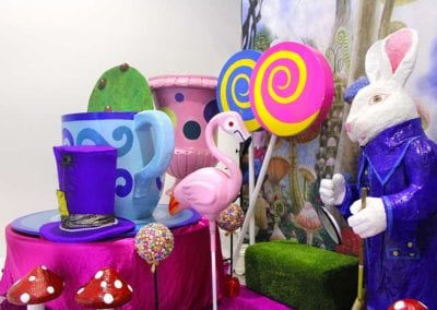 Alice in Wonderland Theme - Sydney Prop Specialists