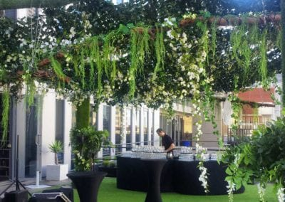 Garden Party Theme - Sydney Prop Specialists