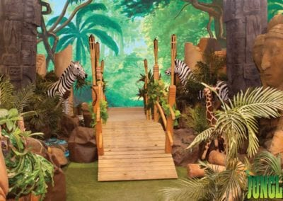 Jungle Theme Backdrop - Sydney Prop Specialists