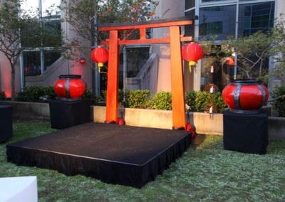 East Meets West Theme - Sydney Prop Specialists