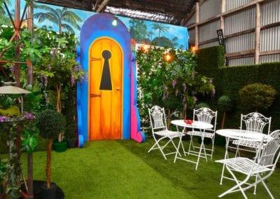 Enchanted Garden Theme - Sydney Prop Specialists