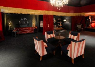 Gentlemen's Club Theme - Sydney Prop Specialists