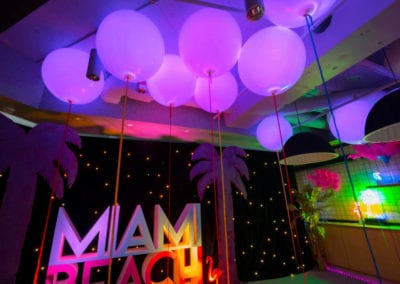 Miami Beach Theme - Sydney Prop Specialists