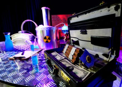 Scientific Laboratory Theme - Sydney Prop Specialists