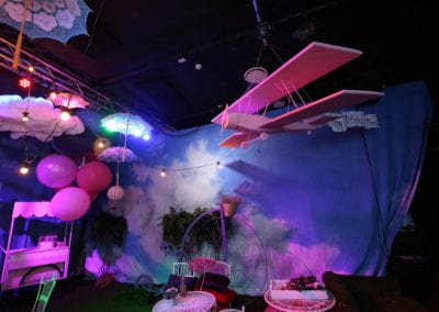Up Up and Away Theme - Sydney Prop Specialists