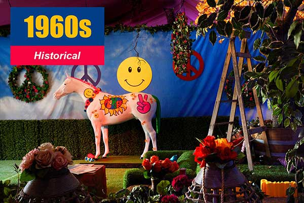 1960s Theme - Historical Themes -  Sydney Prop Specialists