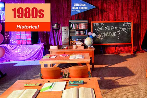 1980s Theme - Historical Themes -  Sydney Prop Specialists