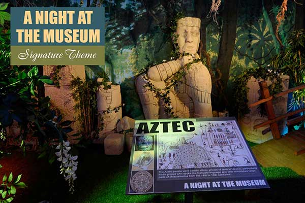 A Night at the Museum Theme - Signature Themes - Sydney Prop Specialists