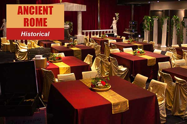 Ancient Rome Theme - Historical Themes -  Sydney Prop Specialists