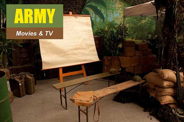 Army Theme - Movie and TV Themes -  Sydney Prop Specialists