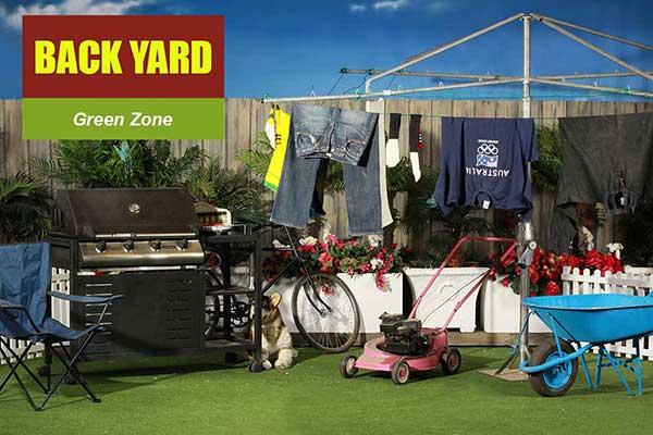 Backyard Theme - Green Zone Themes -  Sydney Prop Specialists