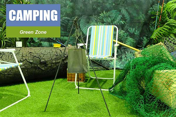 Camping Theme - Green Zone Themes -  Sydney Prop Specialists