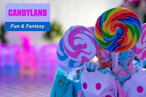 Candyland Theme - Fun and Fantasy Themes - Sydney Prop Specialists