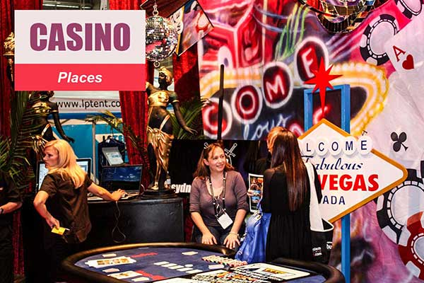 Casino Theme - Place Themes -  Sydney Prop Specialists