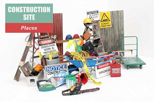 Construction Site Theme - Place Themes -  Sydney Prop Specialists