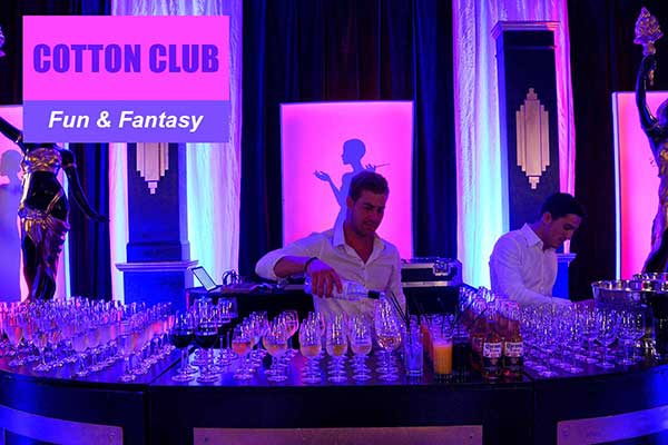 Cotton Club Theme - Fun and Fantasy Themes - Sydney Prop Specialists