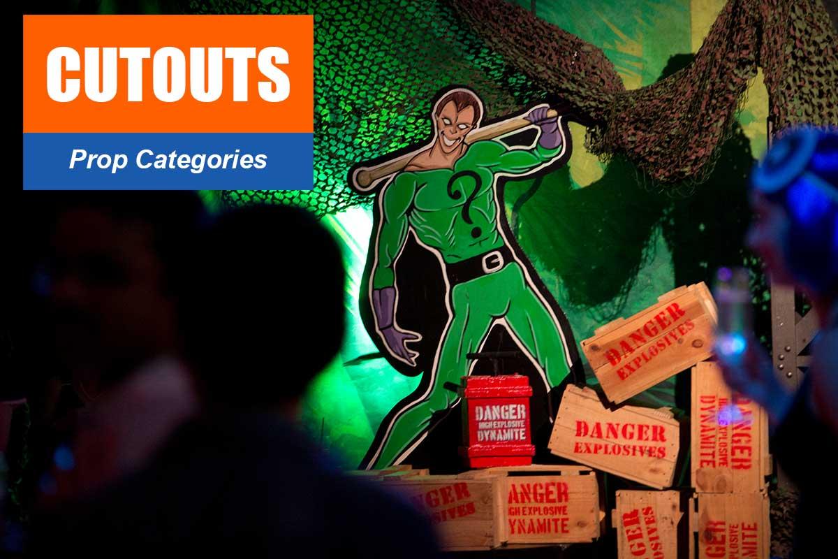 Cutouts -  Sydney Prop Specialists