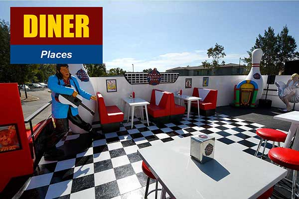 Diner Theme - Place Themes -  Sydney Prop Specialists