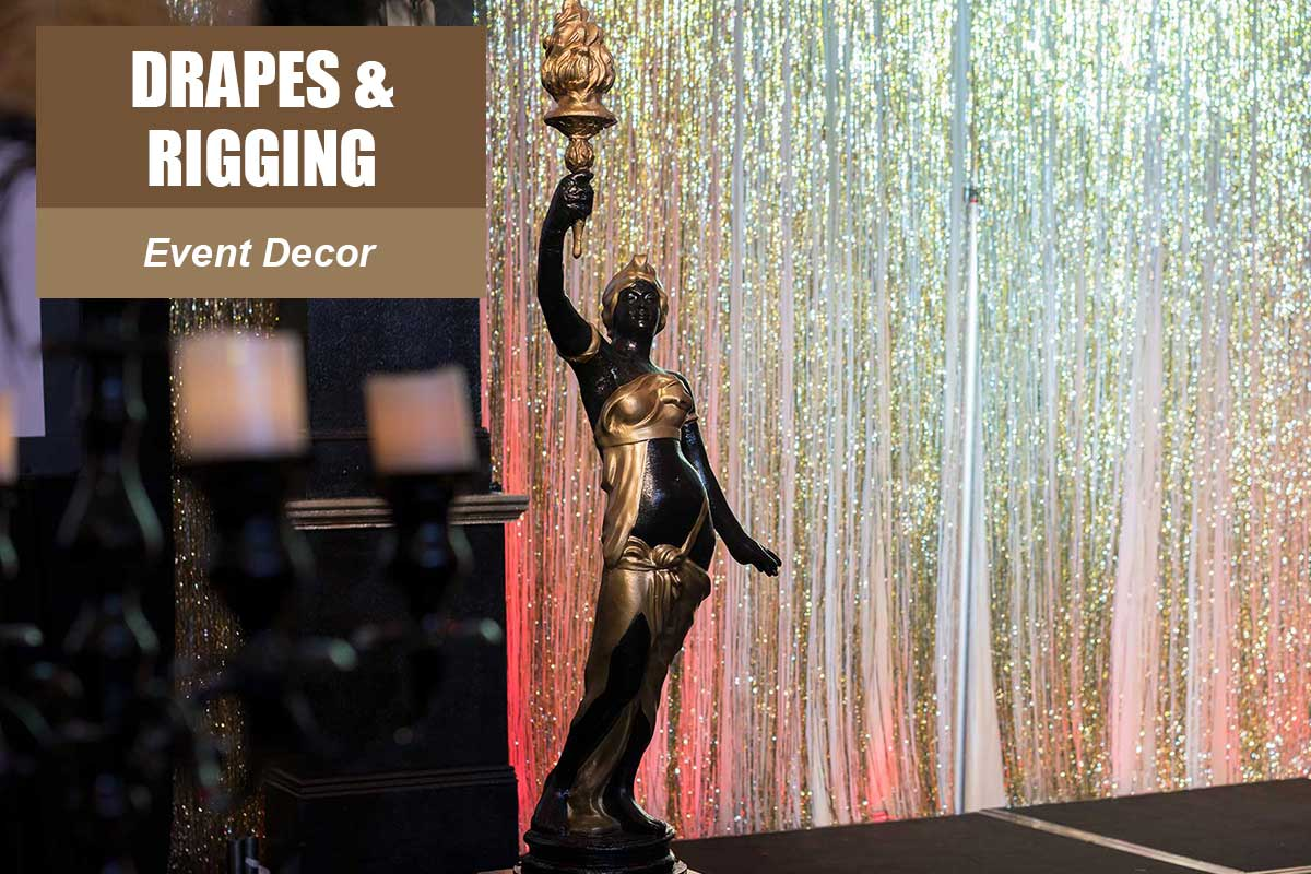 Drapes and Rigging -  Sydney Prop Specialists
