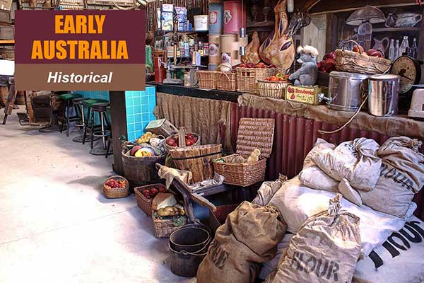 Early Australia Theme - Historical Themes -  Sydney Prop Specialists