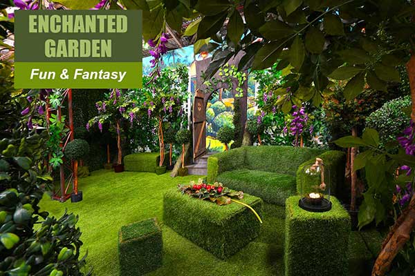 Enchanted Garden Theme - Fun and Fantasy Themes - Sydney Prop Specialists