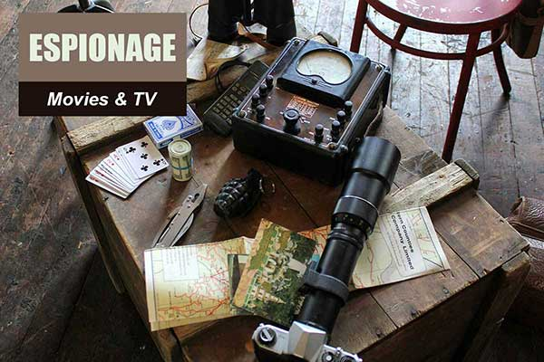 Espionage Theme - Movie and TV Themes -  Sydney Prop Specialists