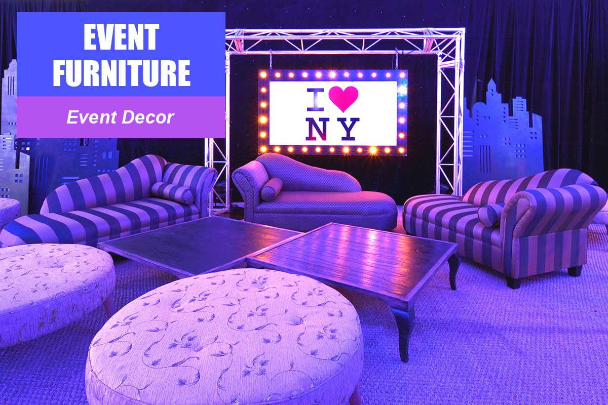 Event Furniture -  Sydney Prop Specialists