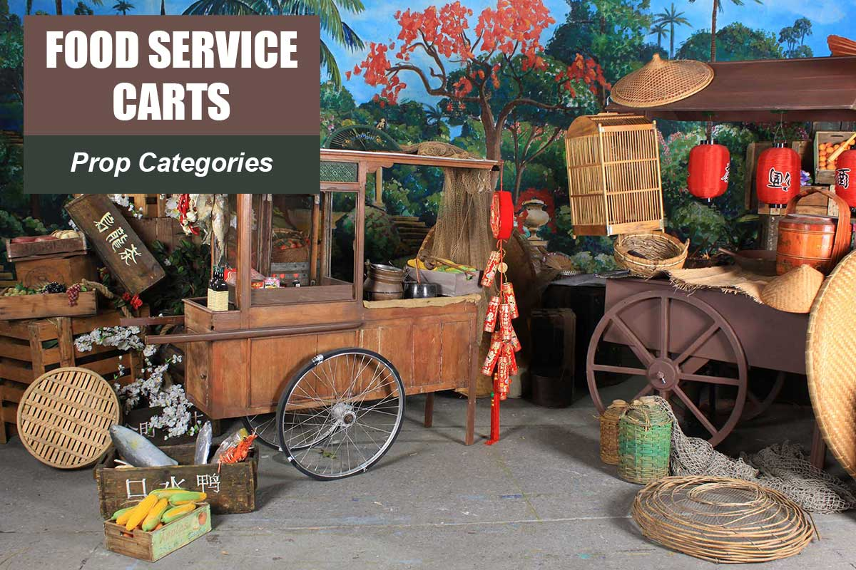 Food Service Carts -  Sydney Prop Specialists