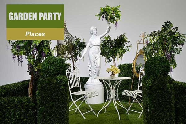 Garden Party Theme - Place Themes -  Sydney Prop Specialists