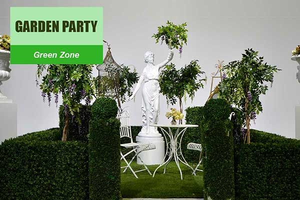 Garden Party Theme - Green Zone Themes -  Sydney Prop Specialists