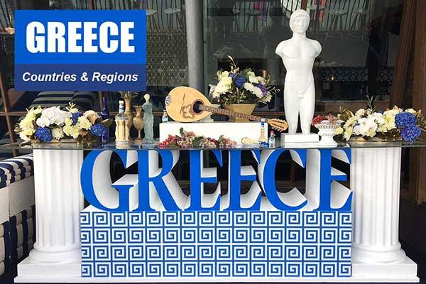 Greece Theme - Sydney Prop Specialists
