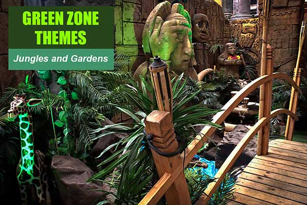 Green Zone Themes at Sydney Prop Specialists