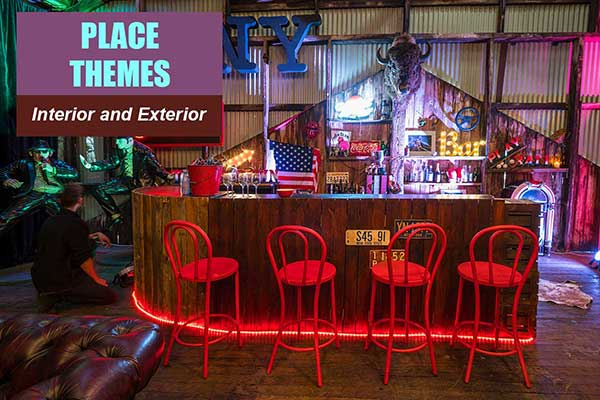 Place Themes at Sydney Prop Specialists