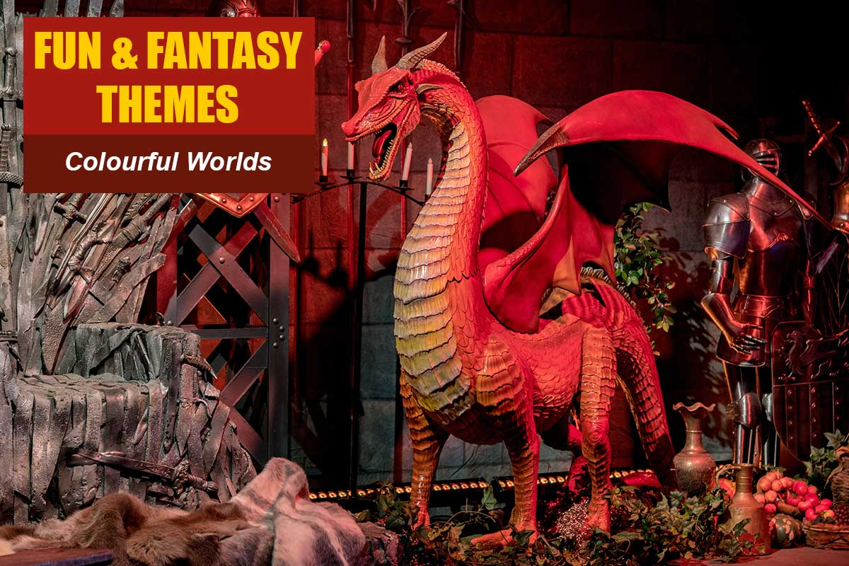Fun and Fantasy Themes at Sydney Prop Specialists