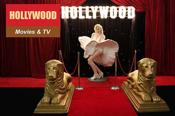 Hollywood Theme - Movie and TV Themes -  Sydney Prop Specialists